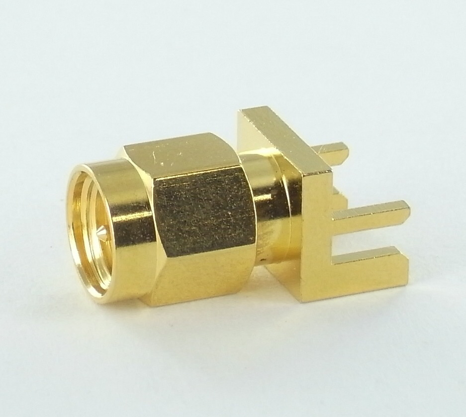 SMA PLUG FOR EDGE MOUNT